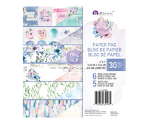 Prima Marketing Watercolor Floral 6x6 Inch Paper Pad (651435)