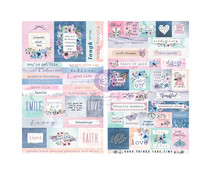 Prima Marketing Watercolor Floral Stickers (651541)