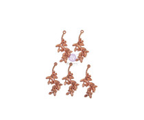 Prima Marketing Watercolor Floral Metal Charms (651589)