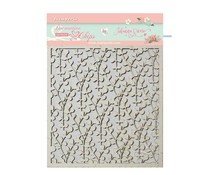 Stamperia Decorative Chips Circle of Love Texture (SCB39)