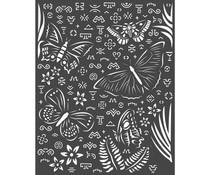 Stamperia Thick Stencil 20x25cm Amazonia Butterflies (KSTD064)