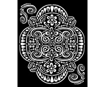 Stamperia Thick Stencil 20x25cm Amazonia Lace (KSTD073)