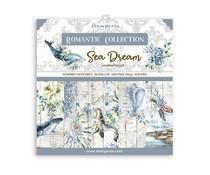Stamperia Romantic Sea Dream 12x12 Inch Paper Pack (SBBL87)