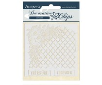 Stamperia Decorative Chips Journal Treasure Together (SCB51)