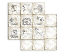 Stamperia Romantic Journal Cards 12x12 Inch Paper Sheets (10pcs) (SBB784)