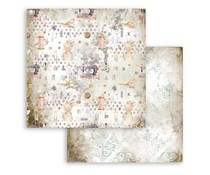 Stamperia Romantic Threads Texture 12x12 Inch Paper Sheets (10pcs) (SBB791)