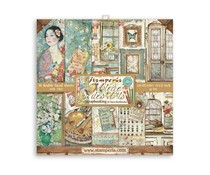 Stamperia Atelier des Arts 12x12 Inch Paper Pack (SBBL85)
