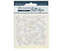 Stamperia Decorative Chips Passion Roses (SCB44)