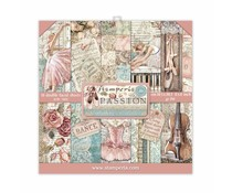 Stamperia Passion 8x8 Inch Paper Pack (SBBS29)
