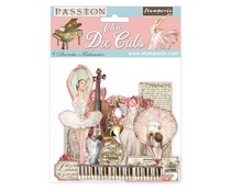 Stamperia Passion Clear Die Cuts (DFLDCP04)
