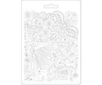 Stamperia Soft Mould A5 Passion Dancer (K3PTA577)