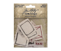 Idea-ology Tim Holtz Stitched Scraps Basics (TH94138)