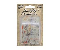 Idea-ology Tim Holtz Linen Tape Floral (TH94139)