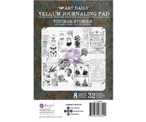 Finnabair Art Daily Vintage Stories Vellum Pad (968441)