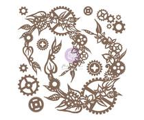 Finnabair Steampunk Wreath Decorative Chipboard (968878)