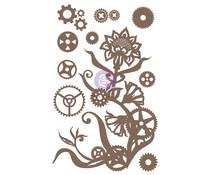 Finnabair Steampunk Flowers Decorative Chipboard (968892)