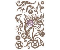 Finnabair Steampunk Blooms Decorative Chipboard (968922)