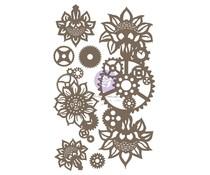 Finnabair Machine Floral Decors Decorative Chipboard (968885)