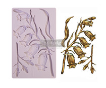Re-Design with Prima Sweet Bellflower 5x8 Inch Mould (650506)