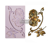 Re-Design with Prima Victorian Rose 5x8 Inch Mould (648152)