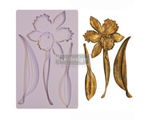 Re-Design with Prima Wildflower 5x8 Inch Mould (650513)