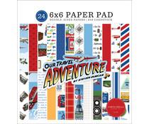 Carta Bella Our Travel Adventure 6x6 Inch Paper Pad (CBOTA131023)