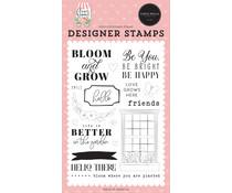 Carta Bella Bloom & Grow Clear Stamps (CBGA130043)