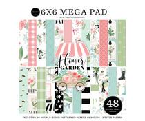 Carta Bella Flower Garden 6x6 Inch Cardmakers Mega Pad (CBGA130031)