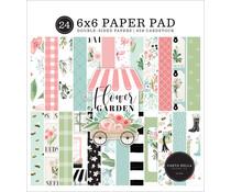 Carta Bella Flower Garden 6x6 Inch Paper Pad (CBGA130023)