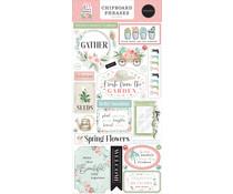 Carta Bella Flower Garden Chipboard Phrases (CBGA130022)