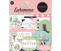 Carta Bella Flower Garden Ephemera (CBGA130024)