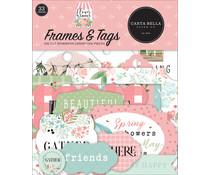 Carta Bella Flower Garden Frames & Tags (CBGA130025)