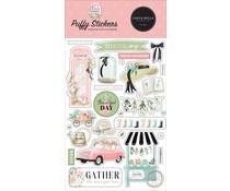 Carta Bella Flower Garden Puffy Stickers (CBGA130066)