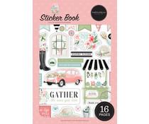 Carta Bella Flower Garden Sticker Book (CBGA130029)