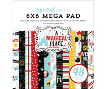 Echo Park A Magical Place 6x6 Inch Cardmakers Mega Pad (AMP239031)