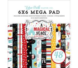 Echo Park A Magical Place 6x6 Inch Cardmakers Mega Pad (AMP239031)