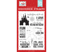 Echo Park Smiles From Ear To Ear Clear Stamps (AMP239043)