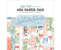 Echo Park Salutations No.1 6x6 Inch Paper Pad (SAN244023)