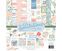 Echo Park Salutations No.1 Collection Kit (SAN244016)