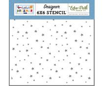 Echo Park Explore Stars 6x6 Inch Stencil (LDB238033)