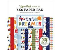 Echo Park Little Dreamer Boy 6x6 Inch Paper Pad (LDB238023)
