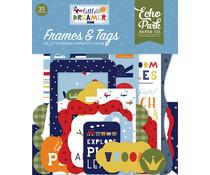 Echo Park Little Dreamer Boy Frames & Tags (LDB238025)