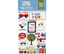 Echo Park Little Dreamer Boy Puffy Stickers (LDB238066)