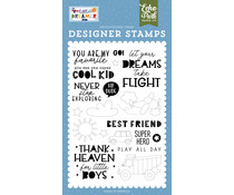 Echo Park Never Stop Exploring Clear Stamps (LDB238043)