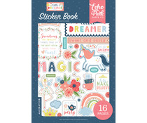 Echo Park Little Dreamer Girl Sticker Book (LD237029)