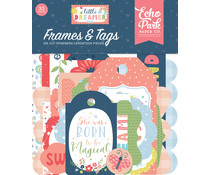 Echo Park Little Dreamer Girl Frames & Tags (LD237025)
