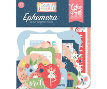 Echo Park Little Dreamer Girl Ephemera (LD237024)