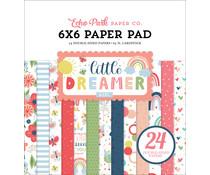 Echo Park Little Dreamer Girl 6x6 Inch Paper Pad (LD237023)