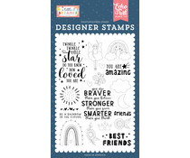 Echo Park Best Friends Clear Stamps (LD237043)