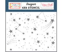 Echo Park Dreamer Girl 6x6 Inch Stencil (LD237034)